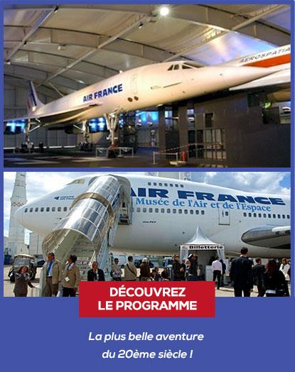 programme visites musée de l'air et de l'espace